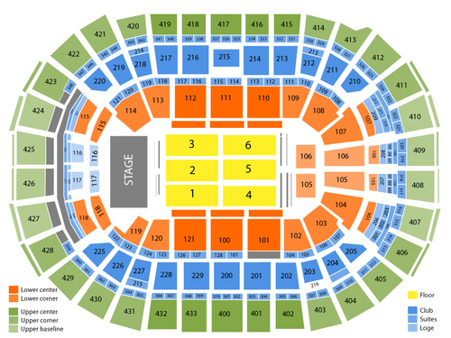 Capital One Arena Seating Chart View